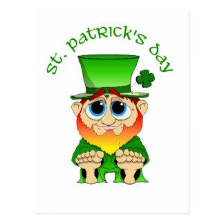 Tag Lil Geschwätz-St. Patricks Postkarte