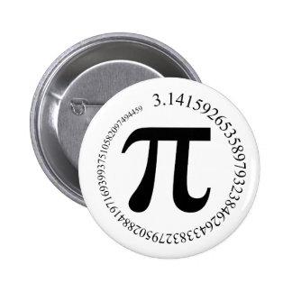 Tag PUs (π) Runder Button 5,7 Cm