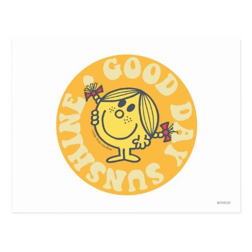 Tag-Sonnenschein-Flecken Postkarte