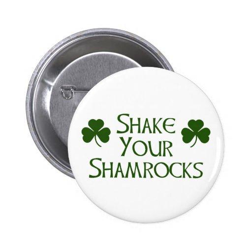 Tag St. Patricks Anstecknadelbuttons