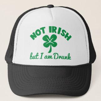 TAG St. PATRICKS NICHT IRISCH aber ich sind Truckerkappe