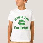 Tag St. Pattys küssen mich, den ich irisch bin Hemden