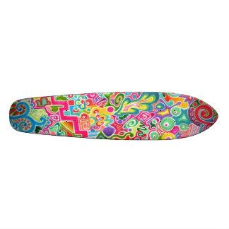 Tag! Ursprünglicher abstrakter Skateboard Brett