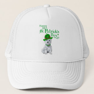Tag Westie St. Patricks Truckerkappe