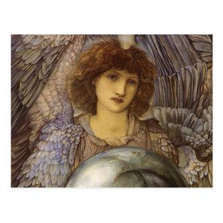 Tage der Schaffung, erster Tag durch Burne Jones Postkarte