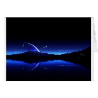 Tagesanbruch-Sternschnuppe Karte