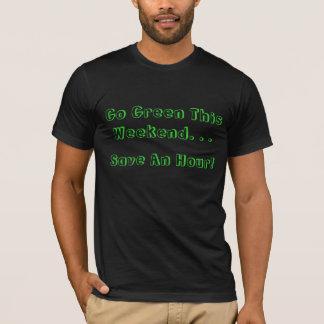 Tageslicht-Sparungs-Zeit-Enden T-Shirt