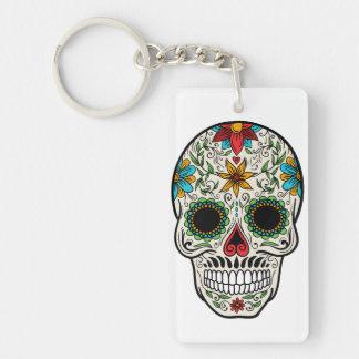 Tagestoter Zuckerschädel Keychain Schlüsselanhänger