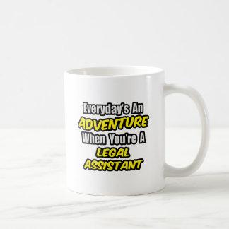 Täglich ein Abenteuer. Kanzleiassistent Kaffeetasse