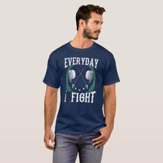 TÄGLICH KÄMPFE ICH - FECHTEND T-Shirt
