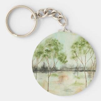 Tagtraum - Keychain - von der ursprünglichen Maler Standard Runder Schlüsselanhänger