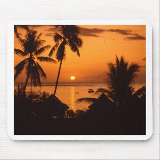 tahiiti Sonnenuntergang Mauspad