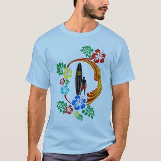 Tahiti-Brandungsentwurf T-Shirt