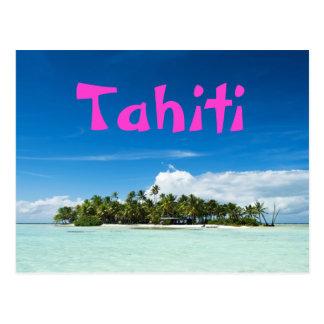 Tahiti-Inselpostkarte Postkarte