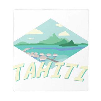 Tahiti Notizblock