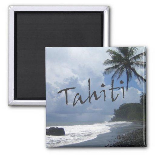 Tahiti-Reise-Andenken-Foto-Kühlschrankmagnete