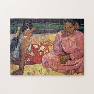 Tahitian Frauen auf dem Strand - Paul Gauguin Puzzle