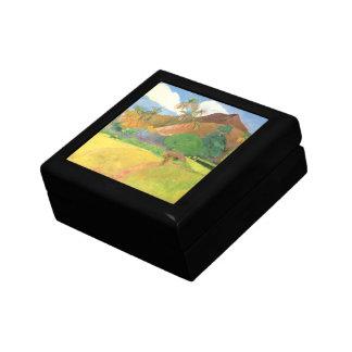 Tahitian Landschaft, Berge Tahiti, Paul Gauguin Erinnerungskiste