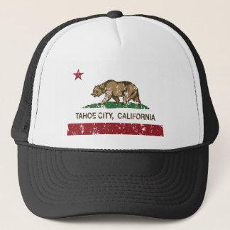 tahoe Stadt-Kalifornien-Flagge Truckerkappe