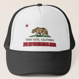 tahoe Vistakalifornien-Staatsflagge Truckerkappe