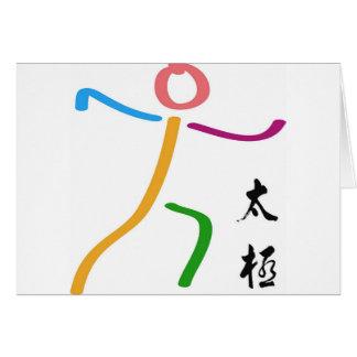 Tai-Chi-Logo Karte