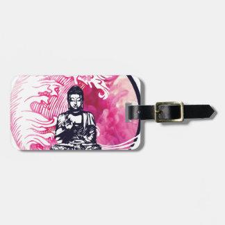 Taifun-Buddha-Welle Gepäckanhänger