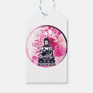 Taifun-Buddha-Welle Geschenkanhänger