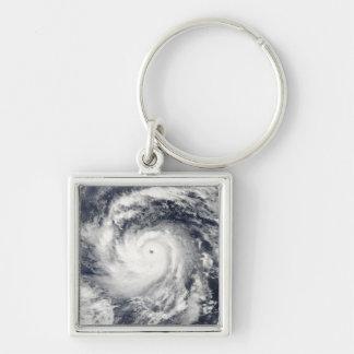 Taifun Nida im Pazifischen Ozean Schlüsselanhänger