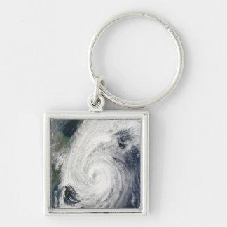 Taifun Tokage südlich von Japan Schlüsselanhänger