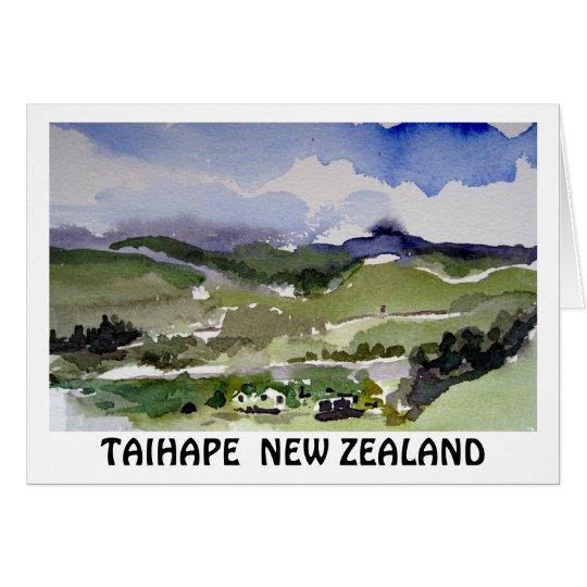 TAIHAPE  NEW ZEALAND KARTE