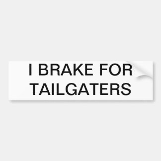 Tailgaters Autoaufkleber