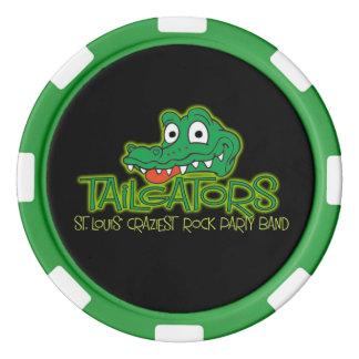 Tailgators Poker-Chip Poker Chips
