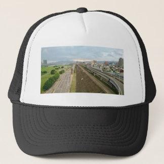 Taiwanesische Stadt und Landschaft Truckerkappe