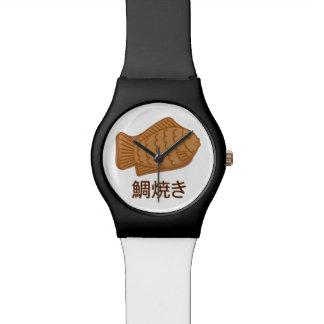 Taiyaki japanische Fisch-Förmige Uhr
