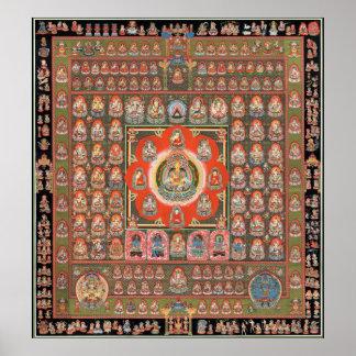 Taizokai Mandala Poster