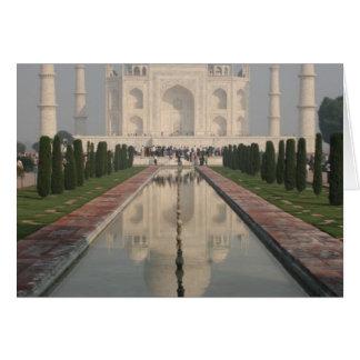 Taj Mahal, Agra, Indien Karte