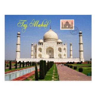 Taj Mahal, Agra, Indien Postkarte