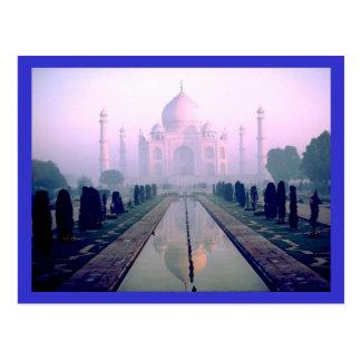 Taj Mahal Agra Indien Postkarte