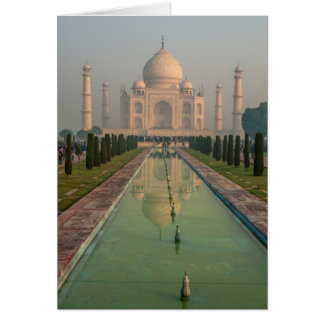 Taj Mahal, Agra, Uttar Pradesh, Indien Karte