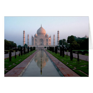 Taj Mahal am Tagesanbruch Karte