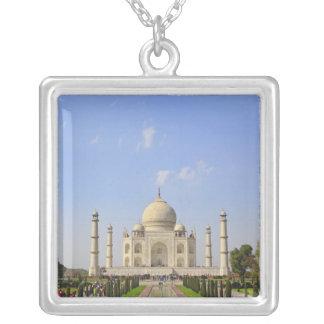 Taj Mahal, ein Mausoleum gelegen in Agra, Indien, Versilberte Kette