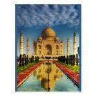 Taj Mahal Foto Postkarte