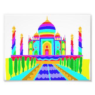 Taj Mahal Fotodruck