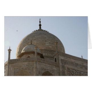 Taj Mahal Haube Karte