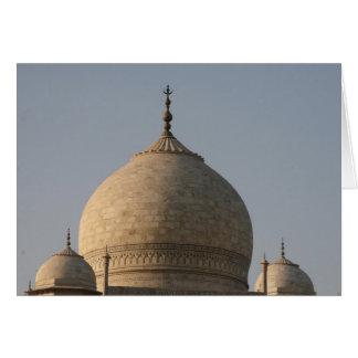 Taj Mahal Hauben Karte