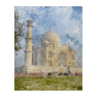 Taj Mahal in Agra Indien Acryl Wandkunst