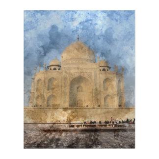 Taj Mahal in Agra Indien Acryldruck