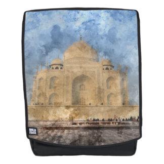 Taj Mahal in Agra Indien - dem Rucksack