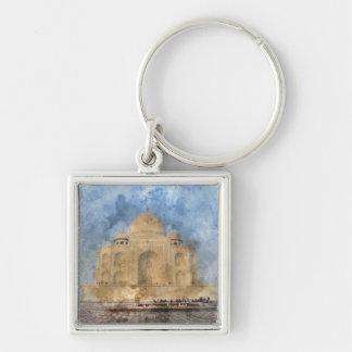 Taj Mahal in Agra Indien - dem Schlüsselanhänger