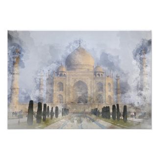 Taj Mahal in Agra Indien Fotodruck